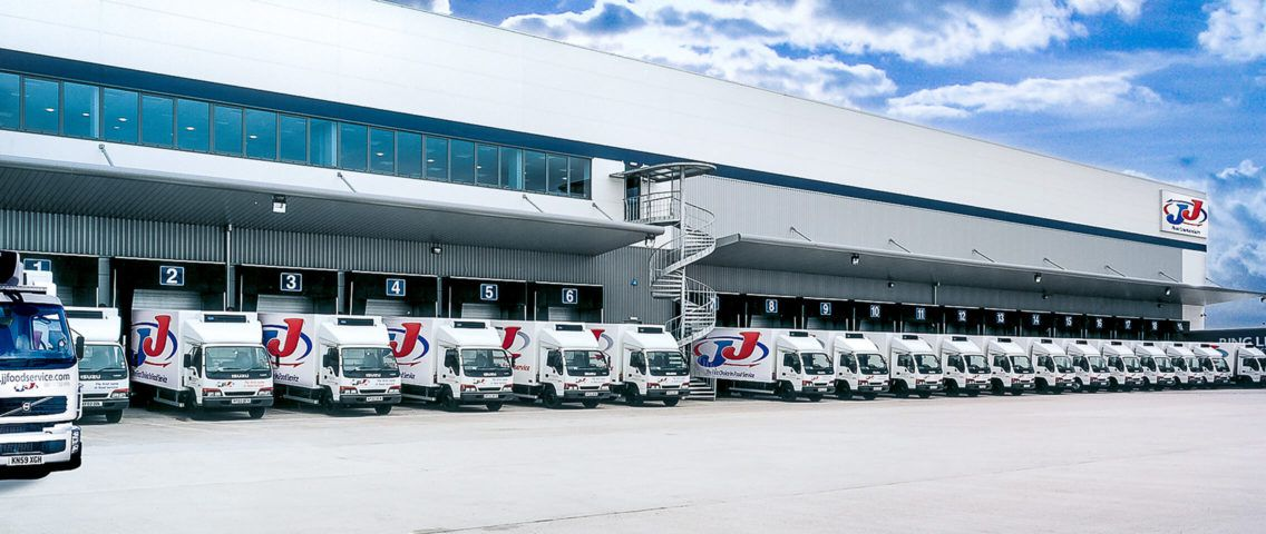 JJ Food Service trucks