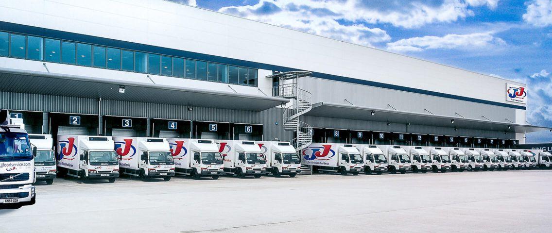 JJ Food Service trucks