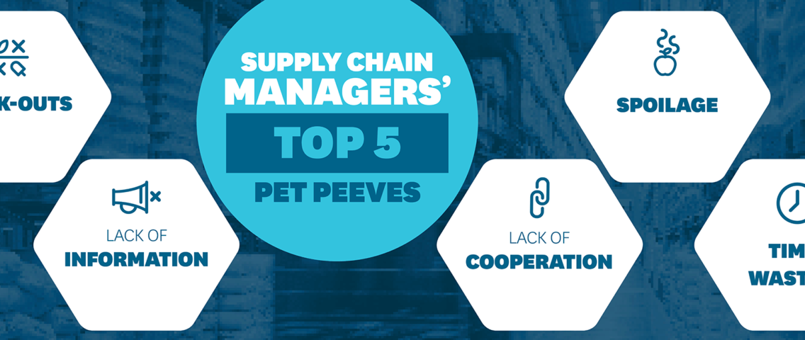 Supply Chain Manager - 5 Pet Peeves