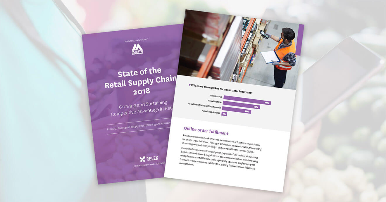 State of the Retail Supply Chain 2018 report