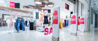 Fashion store sale